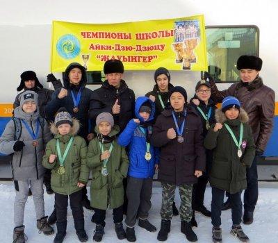 Традиционные зимние экзамены на ученические пояса по Джиу-Джитсу