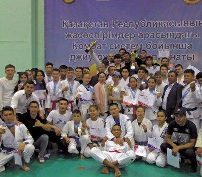Отборочный Чемпионат Республики Казахстан по боевому джиу-джитсу среди старших юношей и юниоров