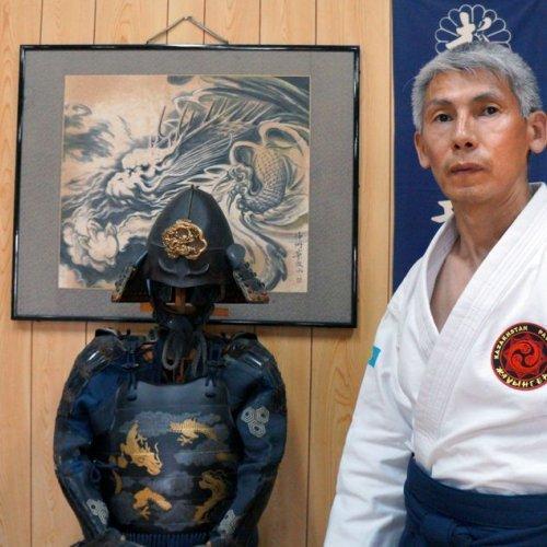 Мастер-класс по древнему виду японского боевого искусства работы с холодным оружием